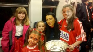 2015-09-14 Millstreet Camogie Players meet the All Ireland Winning Cork Camogie Team 9058