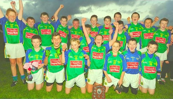 2015-09-21 Duarigle Gaels U13 Footballers who won the Cork North League beating Buttevant in the Final