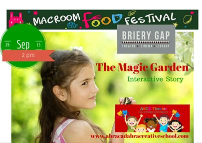 2015-09-26 The Magic Garden - poster
