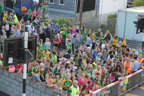 21Kerry Football Team Homecoming in Rathmore 2014 -600