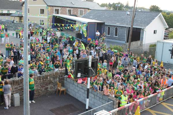 22Kerry Football Team Homecoming in Rathmore 2014 -600
