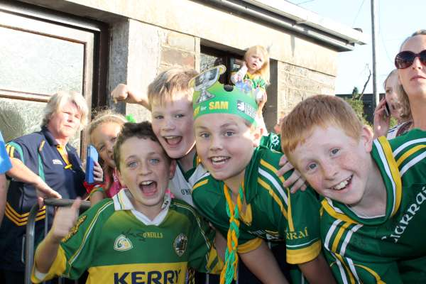 32Kerry Football Team Homecoming in Rathmore 2014 -600