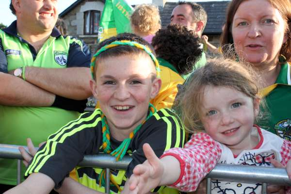 33Kerry Football Team Homecoming in Rathmore 2014 -600