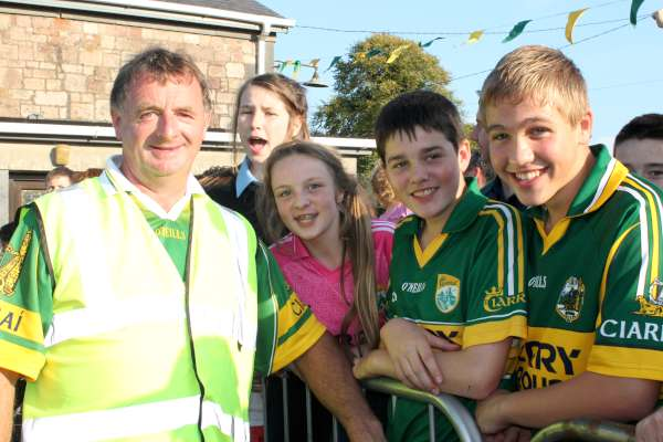 34Kerry Football Team Homecoming in Rathmore 2014 -600