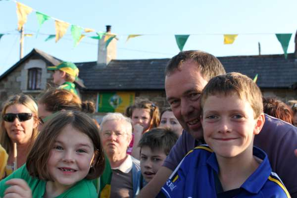 35Kerry Football Team Homecoming in Rathmore 2014 -600