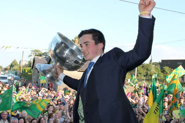 39Kerry Football Team Homecoming in Rathmore 2014 -600