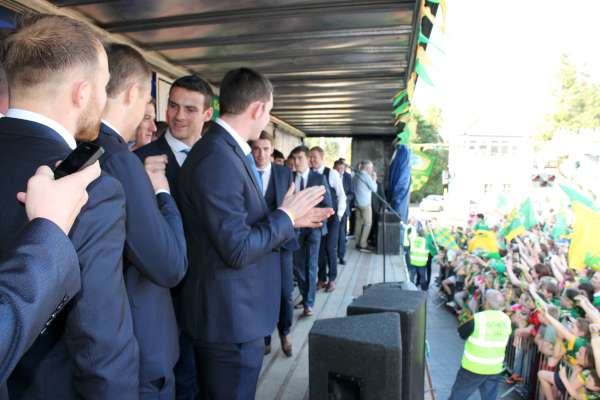 46Kerry Football Team Homecoming in Rathmore 2014 -600