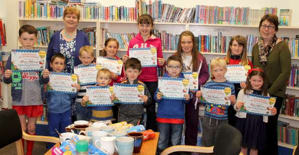The Presentation of Certs relating to Summer Reading Adventure 2015 at Millstreet Library, took place at the Library on Saturday 26th September. Click on the images to enlarge. (S.R.)