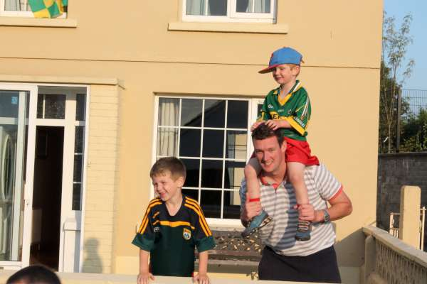 4Kerry Football Team Homecoming in Rathmore 2014 -600