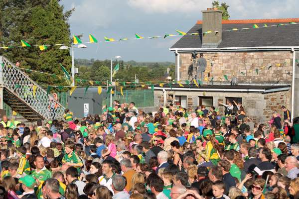 59Kerry Football Team Homecoming in Rathmore 2014 -600