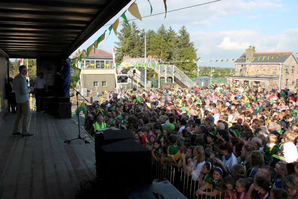 60Kerry Football Team Homecoming in Rathmore 2014 -600