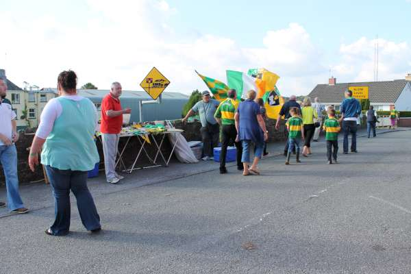 69Kerry Football Team Homecoming in Rathmore 2014 -600