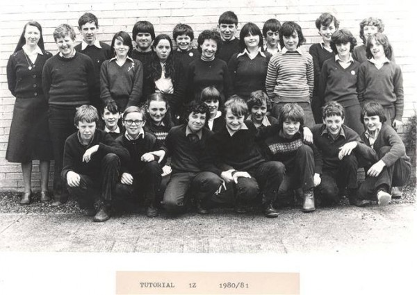 1980 Class 1Z at Millstreet Community School