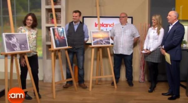 2015-09-30 Ola on the Ireland AM Camera Club on TV3 03
