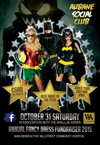 2015-10-09 Aubane Social Club Fancy Dress Night - poster