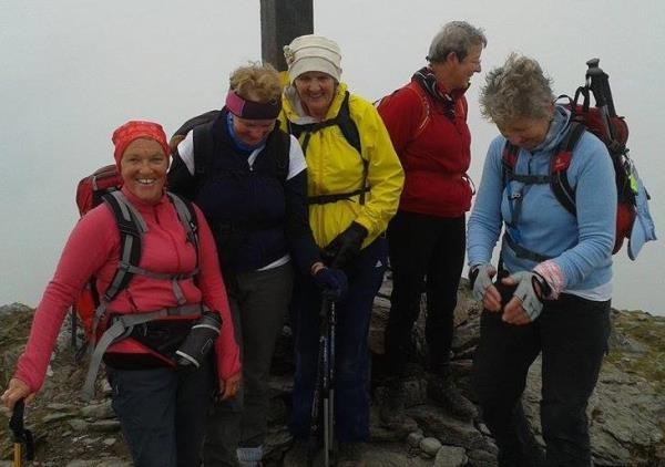 2015-10-15 Ann O'Donoghue climbing Carrantouhill 01.jpg