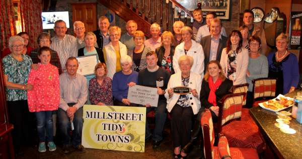 Millstreet Tidy Towns Community Award took place in the wonderful setting of The Clara Inn on Wednesday night. Click on the images to enlarge. (S.R.)