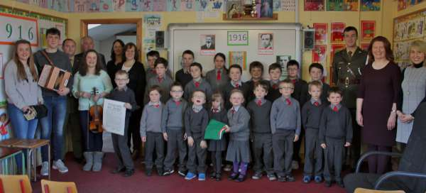 13National Flag Ceremony at Cloghoula N.S. 2015 -600