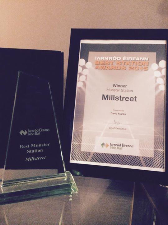 2015-11-02 Millstreet Awarded Best Railway Station in Munster 03