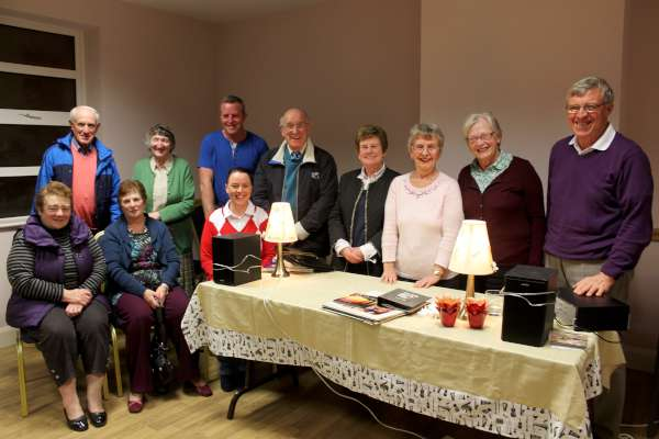 "The most enjoyable November ""Music Room"" presentation in Boherbue was given by Patrick Reidy of Cork (standing at centre). The Christmas presentation with Joan Kennelly will take place in Boherbue on Thursday, 3rd December. Click on the images to enlarge. (S.R.)"