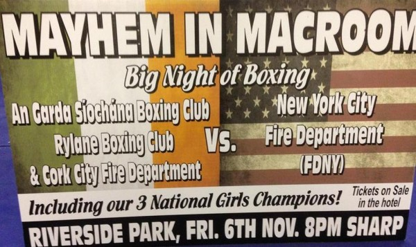 2015-11-06 Mayhem in Macroom - Rylane Boxing - poster_rsz