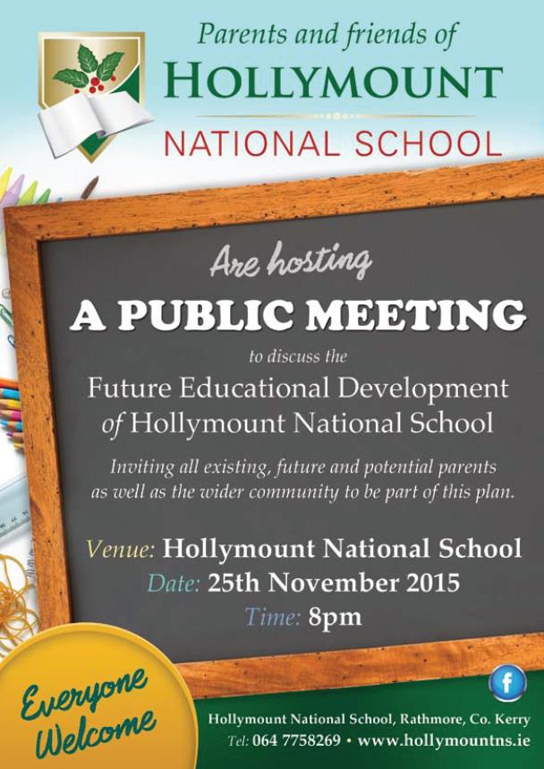 2015-11-25 Hollymount NS Public Meeting - poster
