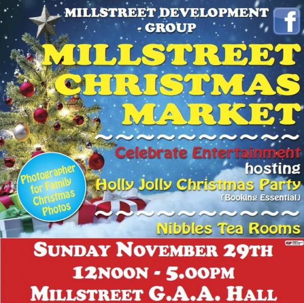 2015-11-29 Millstreet Christmas Market - poster