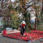 20151102 Works at Dooneen at the Bridge on the Breifne Beara Way 04