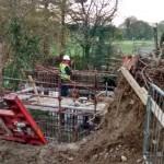 20151102 Works at Dooneen at the Bridge on the Breifne Beara Way 05