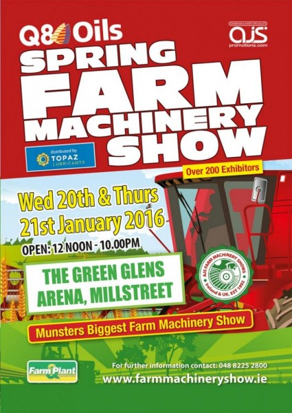 2016-01-20 Spring Farm Machinery Show - poster