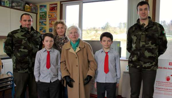 21National Flag Ceremony at Cloghoula N.S. 2015 -600