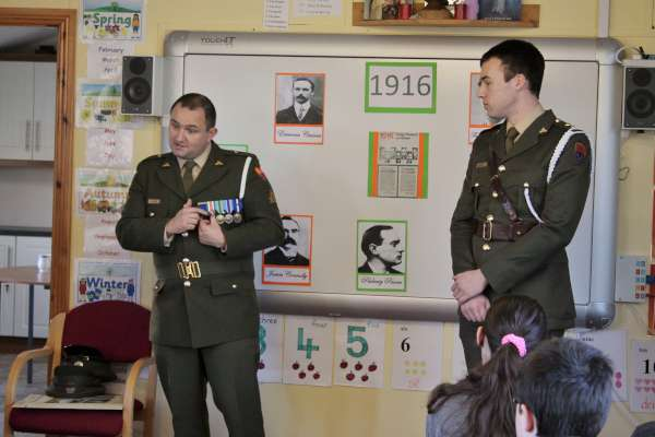 7National Flag Ceremony at Cloghoula N.S. 2015 -600