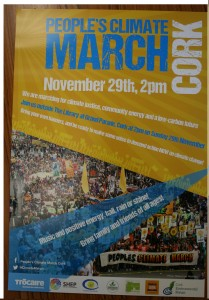 climate change march poster