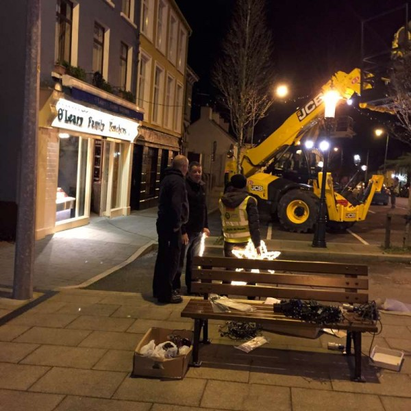 2015-12-01 Putting up the Christmas Lights 1600