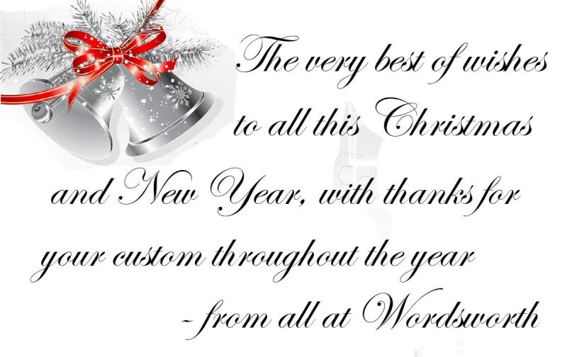 Christmas wishes from Wordsworth – Millstreet.ie