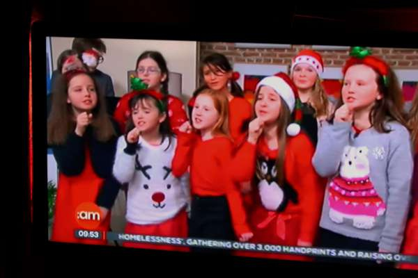 2Voiceworks Youth Choir Cork on TV3 -600