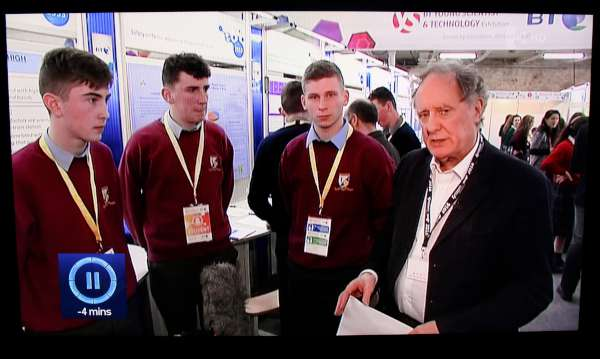 1Tonight with Vincent Browne & MCS Students -600