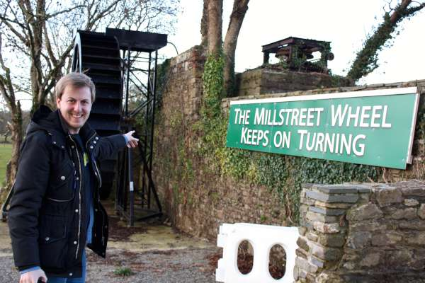 21Eurovision Enthusiast Ansgar from Germany visits Millstreet -600