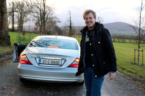 22Eurovision Enthusiast Ansgar from Germany visits Millstreet -600