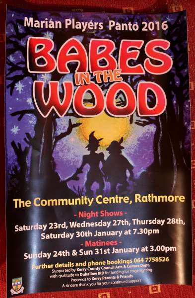 3Babes in Wood Rathmore Panto 2016 -600
