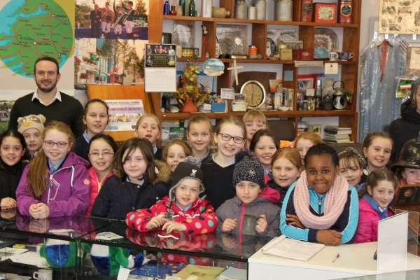 5Millstreet Museum Visitors February 2016 -600