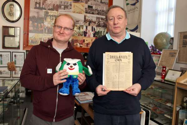 """Glynn is a Eurovision expert and enthusiast from Co. Monaghan while Eamonn has written some 200 historic articles for """"Ireland's Own"""". Both gentlemen feature on our 10pm interview tonight on """"Radio Treasures"""" on www.corkmusicstation.com"""