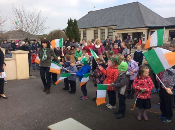 2016-03-15 Rathcoole NS 1916 Commemoration