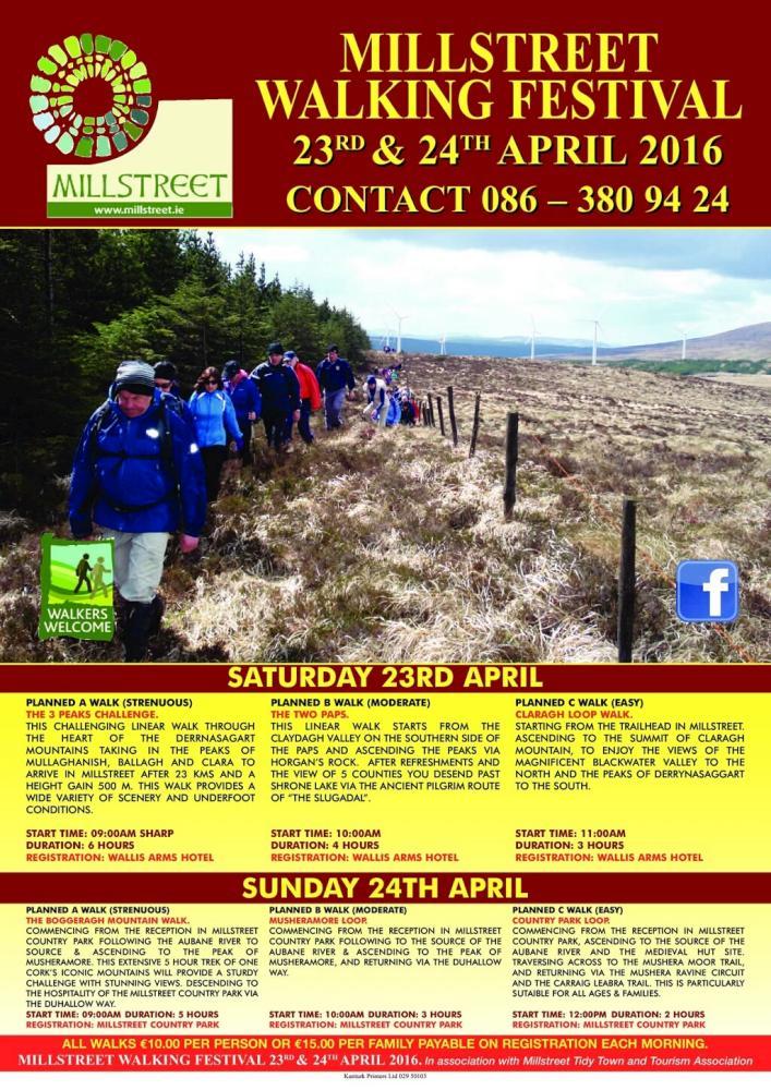 2016-04-24 Millstreet Walking Festival 01 - poster