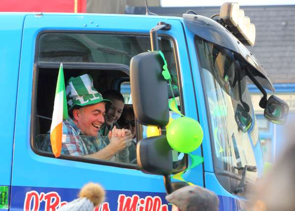Four superb images kindly shared by Denis O'Regan (Station Road) from the Millstreet St. Patrick's Day Parade 2016.  We're sure some wonderfully witty captions might be suggested by our many regular Millstreet website visitors!  Click on the pictures to enlarge.  (S.R.)