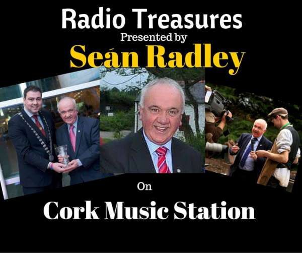 "Willie Collins's ""Radio Treasures"" very creative Poster kindly send to us on Cork Music Station."