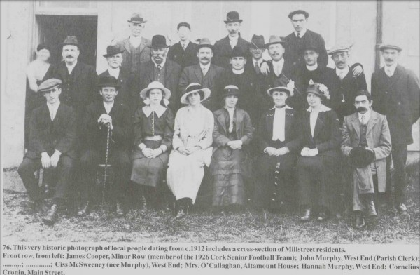 millstreet people from 1912 - from Picture Millstreet