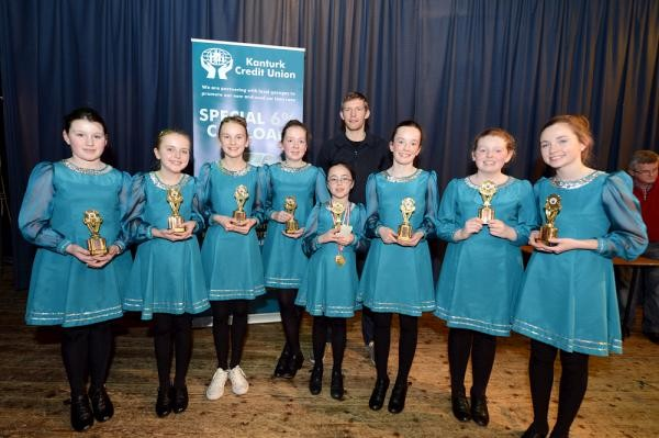 2016-04-07 Millstreet Set Dancers - best of luck in the County Final