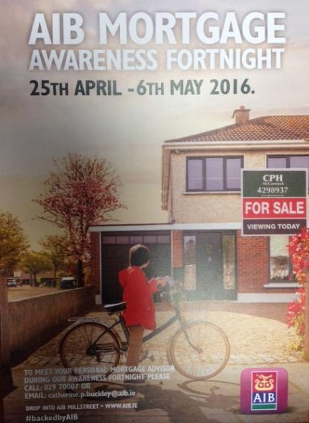 2016-04-27 AIB Mortgage Fortnight - poster