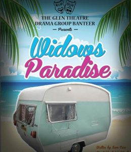 2016-04 Widow's Paradise - Glen Theatre Drama Group - poster